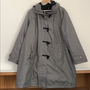 Lands' End Insulated Rain Jacket Coat Plus Size